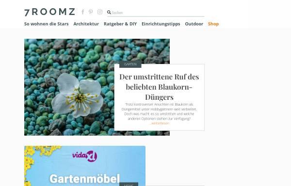Vorschau von www.7roomz.de, SALESBUTLERS UG