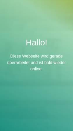 Vorschau der mobilen Webseite www.dlbthoben.de, Dienstleistungsbüro DLB Michael Thoben