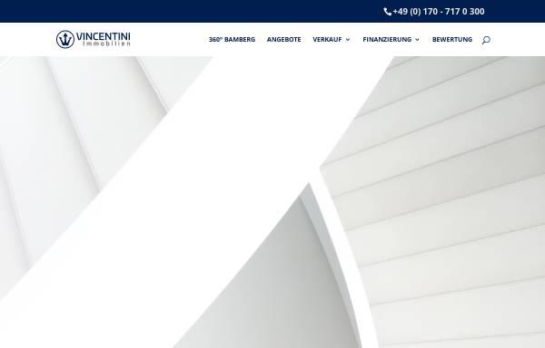 Vorschau von vincentini.de, VINCENTINI Immobilien