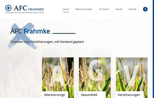 Vorschau von www.afc-frahmke.de, AFC Frahmke