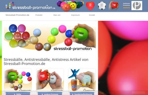 Vorschau von www.stressball-promotion.de, Stressball Promotion