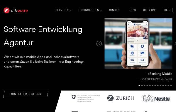 Vorschau von www.fabware.ch, Fabware GmbH
