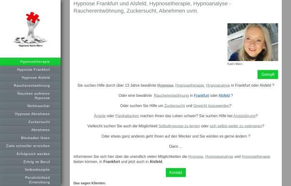 Vorschau von www.hypnosepraxis-karin-merz.de, Karin Merz Hypnosepraxis