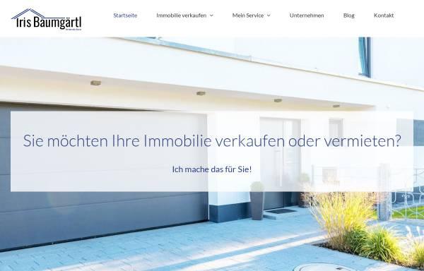 Vorschau von baumgaertl-immobilien.de, Iris Baumgärtl Immobilien