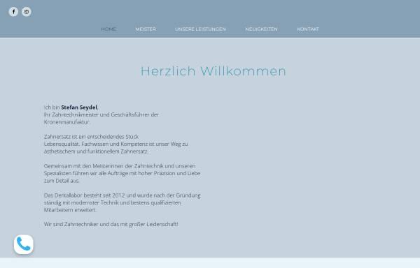 Vorschau von www.kronenmanufaktur.de, Die Kronenmanufaktur
