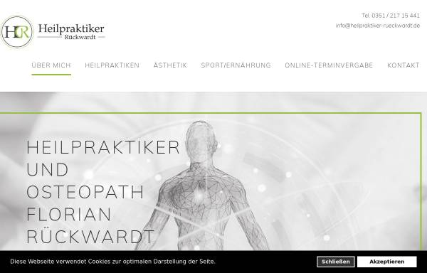 Vorschau von www.heilpraktiker-rueckwardt.de, Florian Rückwardt