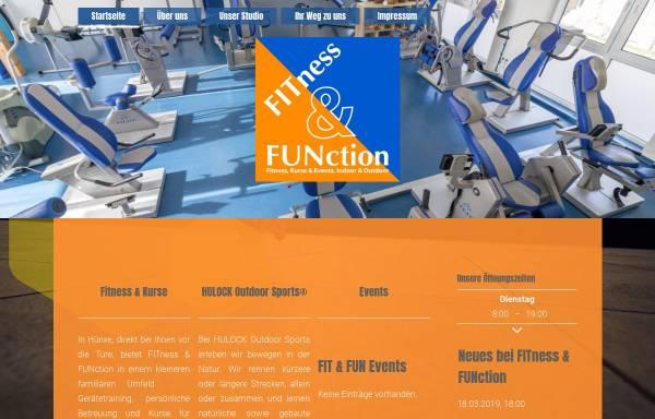 Vorschau von www.fitnessandfunction.de, FITness & FUNction, HULOCK Outdoor Sports