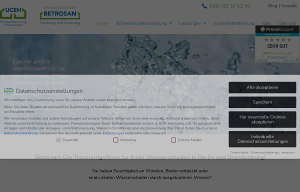 Vorschau von www.betrosan.de, BETROSAN GmbH