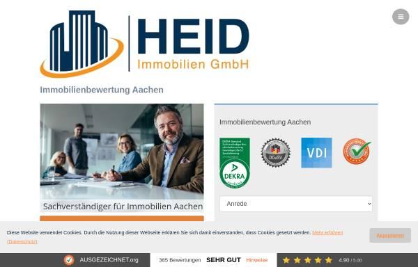 Vorschau von www.heid-immobilienbewertung.de, HEID Immobilienbewertung