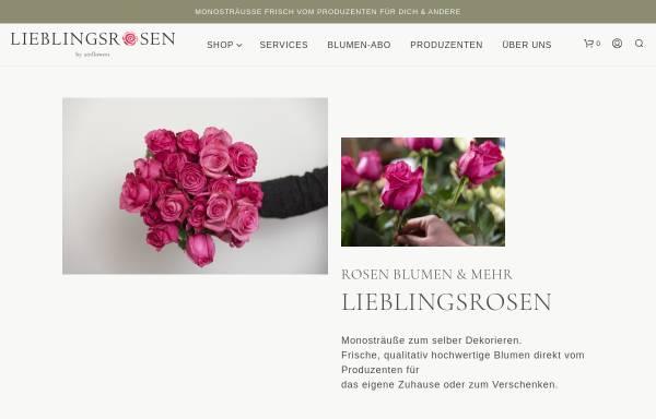 Vorschau von www.lieblingsrosen.com, Airportflowers GmbH