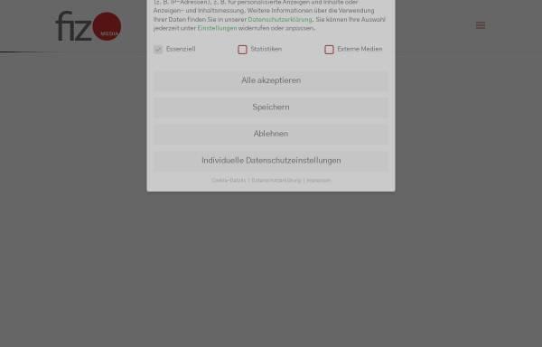 Vorschau von www.fiz-media.de, FiZ-Media