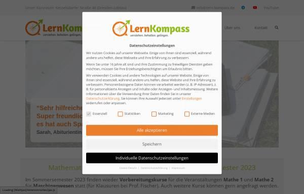 Vorschau von www.lern-kompass.de, LernKompass