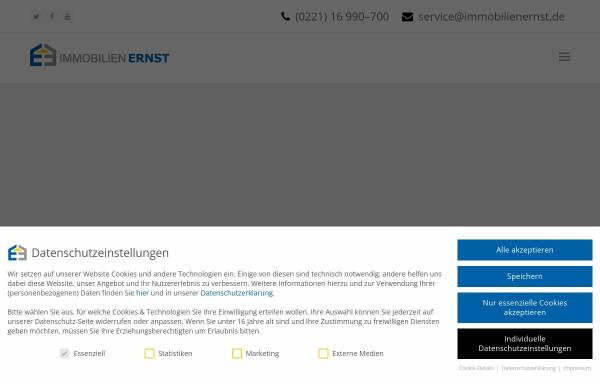 Vorschau von www.immobilienernst.de, Immobilien Ernst