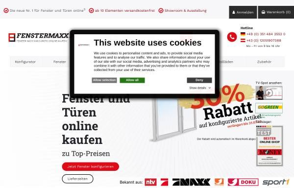 Vorschau von www.fenstermaxx24.com, Fenstermaxx 24 GmbH