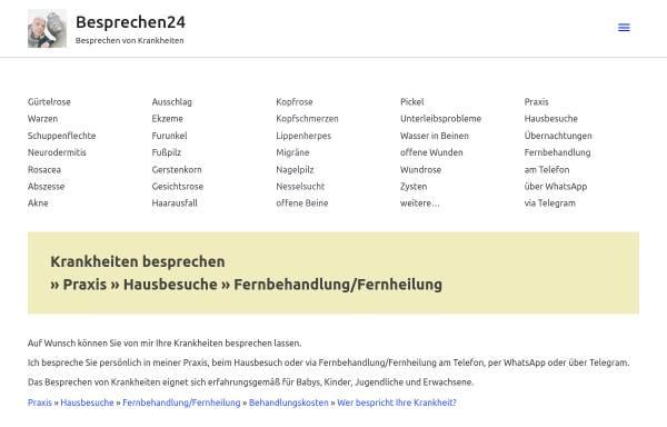Vorschau von besprechen24.de, Frank Schnigge
