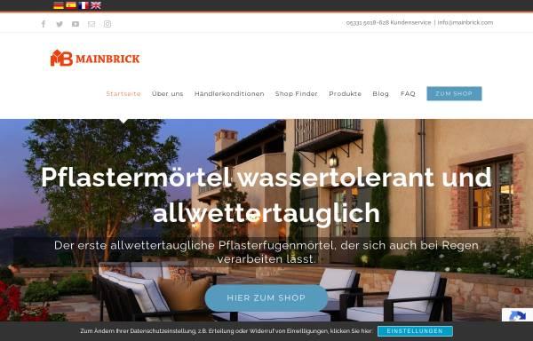 Vorschau von www.mainbrick.de, MBK-International GmbH