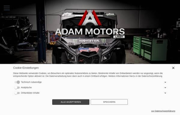 Vorschau von www.adam-motors.de, Adam Motors GmbH