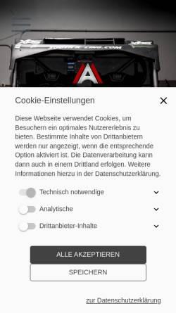 Vorschau der mobilen Webseite www.adam-motors.de, Adam Motors GmbH