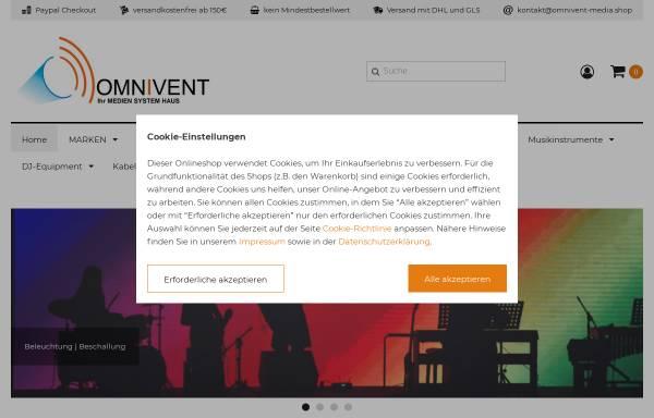 Vorschau von www.omnivent-media.shop, Omnivent-Media