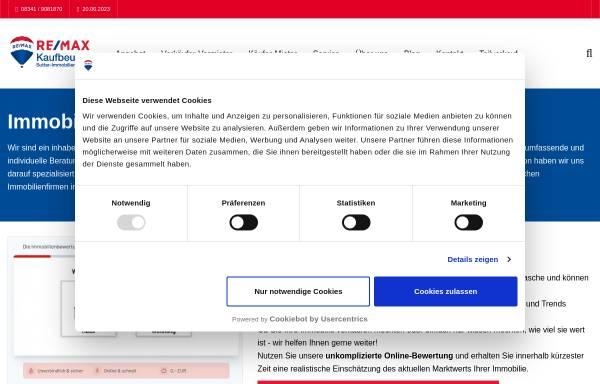 Vorschau von www.remax-sutter.de, RE/MAX Sutter-Immobilien-Team GmbH