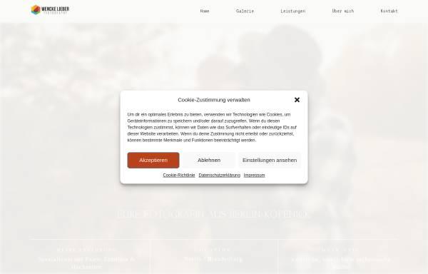 Vorschau von www.wencke-lieber.de, Wencke Lieber Photography