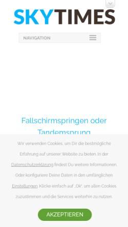 Vorschau der mobilen Webseite www.sky-times.de, Sky-Times