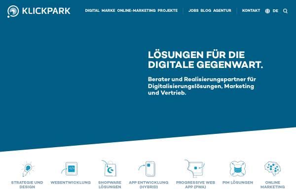 Vorschau von klickpark.de, Klickpark GmbH & Co. KG