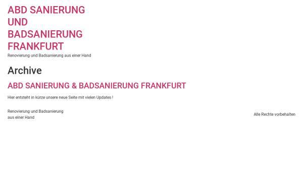 Vorschau von www.badsanierung-in-frankfurt.de, abd Badsanierung Frankfurt U.G.