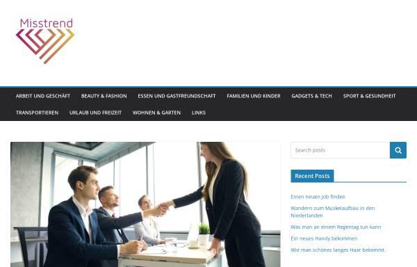Vorschau von misstrend.de, Miss Trend Shop