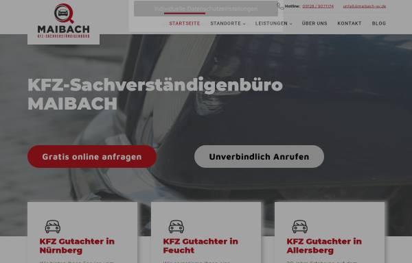 Vorschau von www.maibach-sv.de, Maibach GmbH