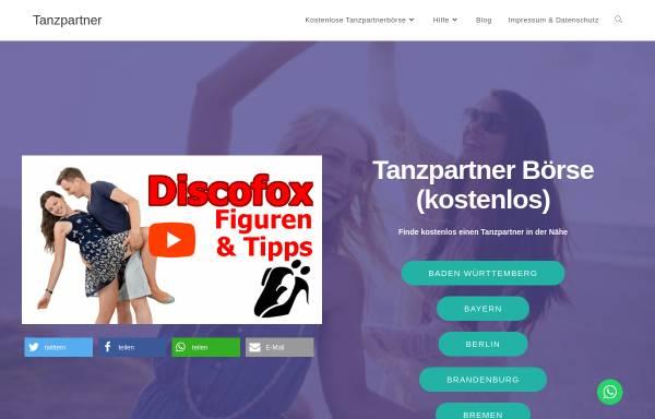 Vorschau von einfach-besser-tanzen.net, Social Dance e.V.