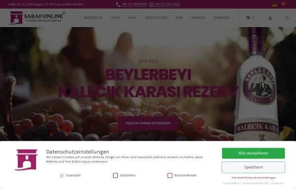 Vorschau von sarap.online, Sarap.Online UG