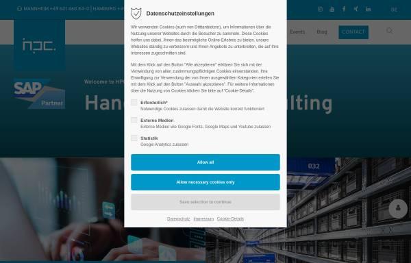 Vorschau von www.hpc.de, HPC Aktiengesellschaft