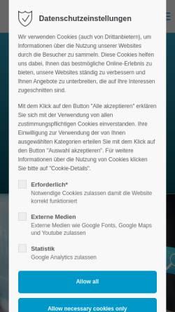 Vorschau der mobilen Webseite www.hpc.de, HPC Aktiengesellschaft