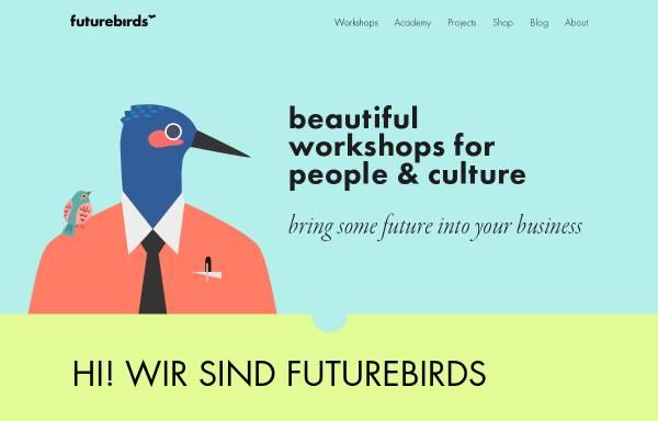 Vorschau von www.futurebirds.de, futurebirds – Neues Arbeiten