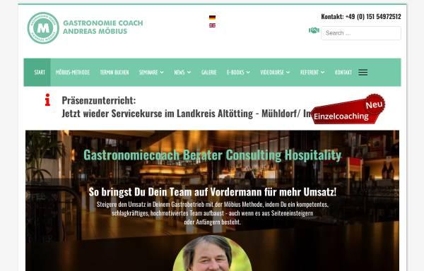 Vorschau von gastronomiecoach.andreas-moebius.de, Gastronomiecoach Andreas-Möbius.de