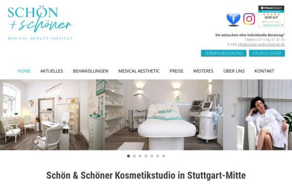 Vorschau von www.schoen-und-schoener.de, Schön&Schöner Medical-Beauty Ltd.