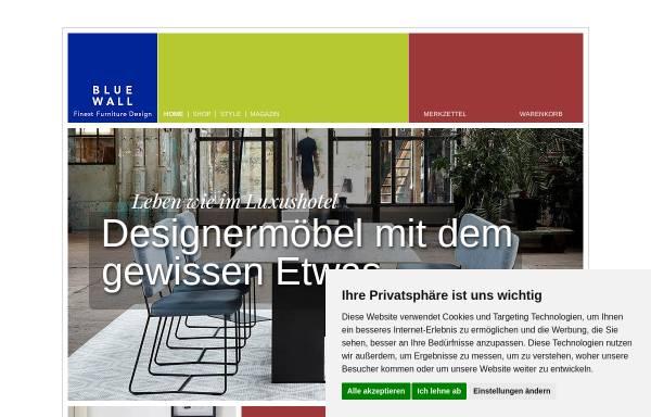 Vorschau von www.blue-wall-design.de, Blue Wall Design GmbH