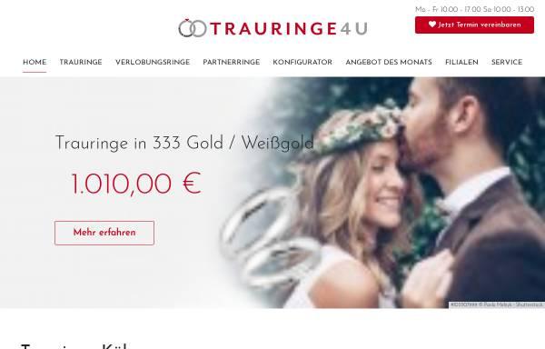 Vorschau von www.trauringe4u.de, Trauringe4u