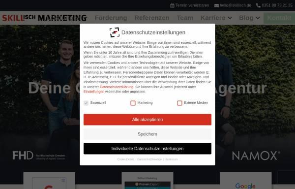Vorschau von skillisch.de, Skillisch Marketing