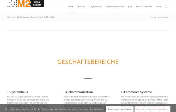 Vorschau von m2-digitalsolution.de, M2 digital solution UG