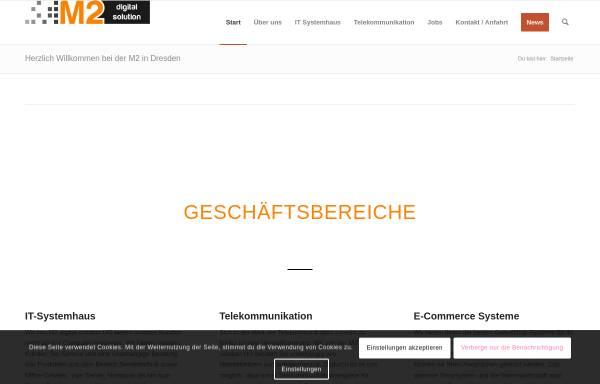 Vorschau von m2-digitalsolution.de, M2 digital solution UG