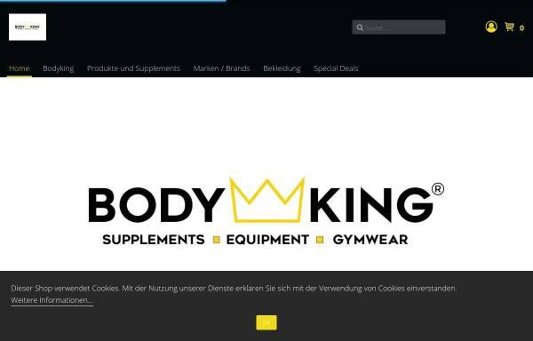 Vorschau von bodyking-webshop.de, BODYKING®