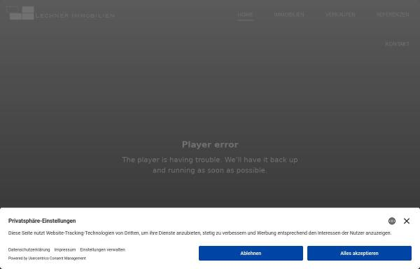Vorschau von www.lechner.immo, Lechner Immobilien