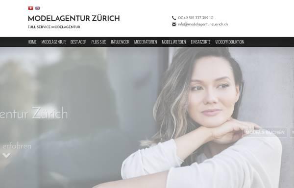 Vorschau von www.modelagentur-zuerich.ch, The models GmbH