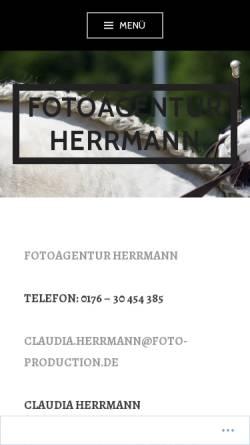 Vorschau der mobilen Webseite www.foto-production.de, Foto-Production