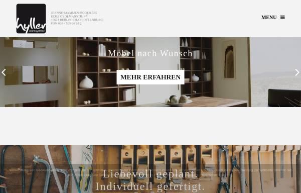 Vorschau von hyller.com, hyller Wohnsysteme GmbH