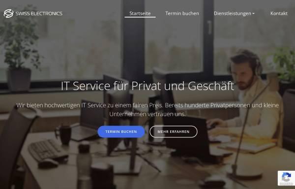Vorschau von swiss-electronics.com, Swiss Electronics GmbH