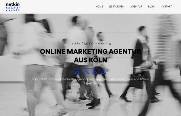 Vorschau von www.netkin.de, netkin®