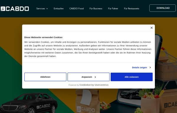 Vorschau von www.cabdo.de, Cabdo Taxi
